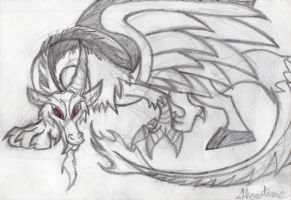 Discord the King of Chaos by ShowtimeandCoal