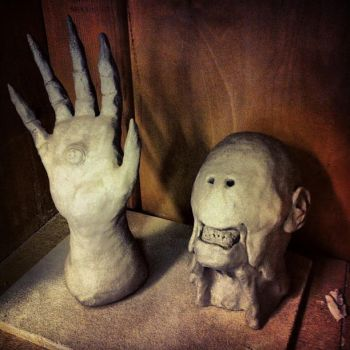 The Pale man (Hand and Head) by TheSEB93