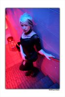 Lisette - Red, Black and Blue by bleedingvisuals