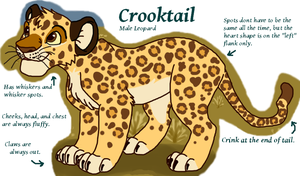 Crooktail Ref by Bubbletea-Coyote