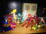 Just another day on the shelf... by KaizerLagann1987
