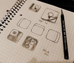 Icon mockups and sketches - Just for fun by abhashthapa