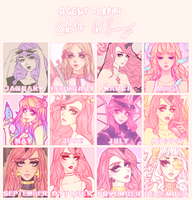 2K14 ART SUMMARY by agent-lapin