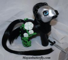 Moon Vine Custom My Little Pony Commission by mayanbutterfly