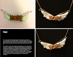 Hope Pendant by BeeTrue