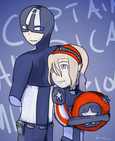 Even Mikah is a fan of Cap by timestoneauthor203