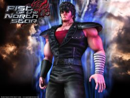 Kenshiro's rage - wallpaper by asgard-knight
