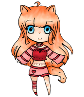 Chibi Zoey by StarryPooh