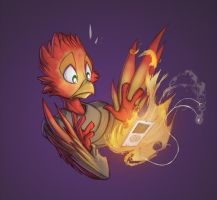 Flain on Fire by Dreamkeepers