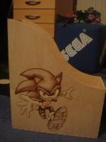 Sonic Archie Ordner Box by Sega-Club-Tikal