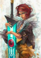 Transistor - Red by MonoriRogue