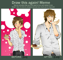 Meme: Before and After by bunnytsu
