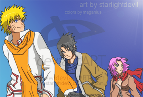 Team 7 by starlightdevil by Maganius