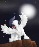 Guardian of the Night - Mega Absol by Lawlawruu