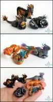 Miniature Dragons by Bon-AppetEats