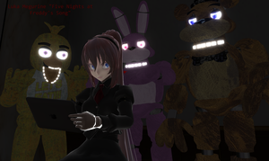 [MMD] Five Nights at Freddy's by Fusaex3