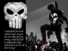 Punisher by mcclainsherman