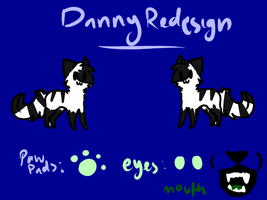 Danny Redesign by TwistedAnchor