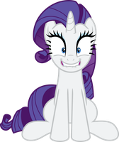 Rarity Overly Excited by Jeatz-Axl