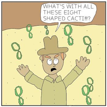 Eight shaped cacti by oddplaceoddtime