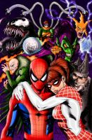 Spider-Man: Renew Your Vows   Colourised by Cotterill23
