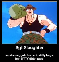 Sgt Slaughter Demotivational 4 by ImaDoctor96