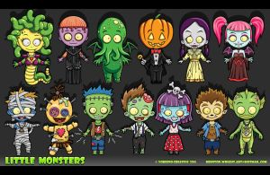 Little Monsters by BrentonWright