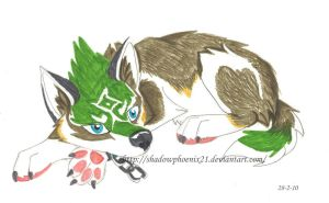 Link wolf pup by Shadowphoenix21