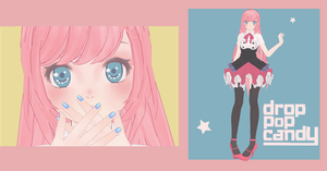 [1000 Watchers Gift] Drop Pop Candy Luka DL! by MMDMikuMikuLen