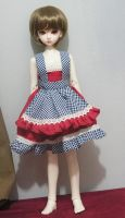 New outfit i just made for Chihiro :) by Mikhairu20