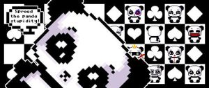 -Panda stupidity- avatars pack by neomelodramatic