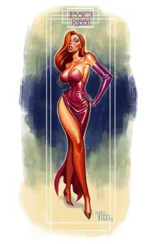 Jessica Rabbit by juarezricci