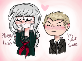 Peko and Kuzu by Suagrtooth900