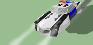 Knight Police Cruiser by Pixel-pencil