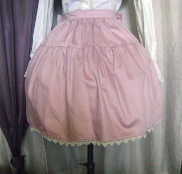 Pink Two-Tier Skirt by monarch-lolita