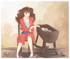 Hermione and Rosy by MaDe-WhIt-LoVe