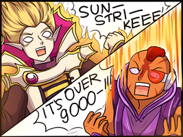 ping is over 9000 by keterok