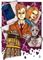 Marker: Dr Who Commission by G-double