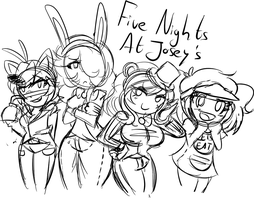 Five Nights At Josey's by TickingGears
