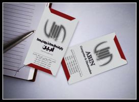 ABIN Visit Card by sarakhanoom