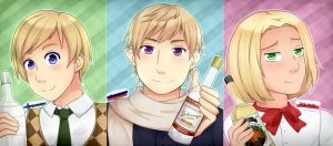 APH Vodka Trio by Annington