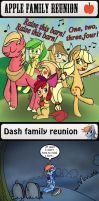 Pony family reunions by MrFulp
