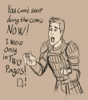 Alistair Forever alone by Aztarieth
