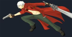 Young Dante by LS-Leon