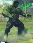 Hulk in USF4 by salimano3