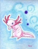My Axolotl by FourBadQuans