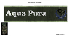 Aqua Pura Label by redsteal21