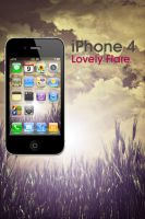 iPhone 4 LovelyFlare Wallpaper by Martz90