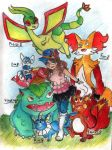 My Pokemon X Team by Whitewing16