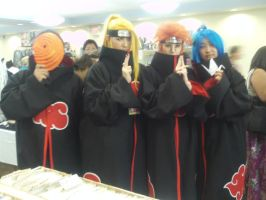 Akatsuki Cosplayers by Omaki
